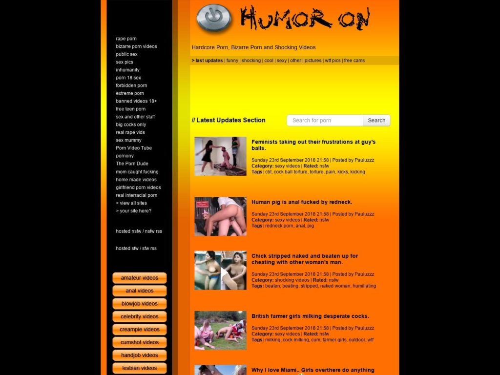 Humoron Review - Best Funny Porn Sites like humuron.com