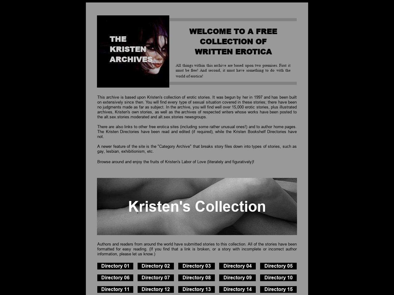 The kristen archives just first time stories
